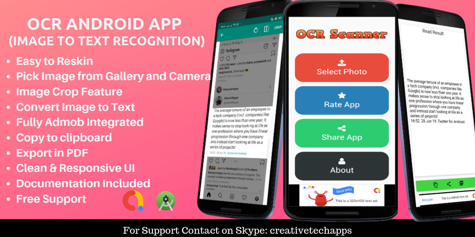 OCR Scanner - Android App | Codester
