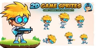 Henry 2D Game Sprites
