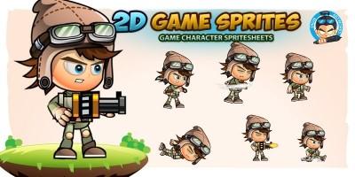 Rusty 2D Game Sprites
