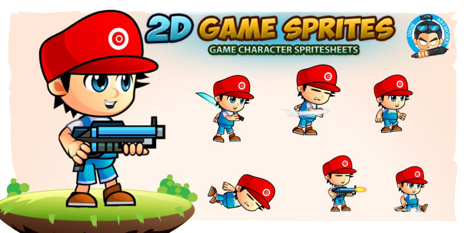 Marlo 2D Game Sprites