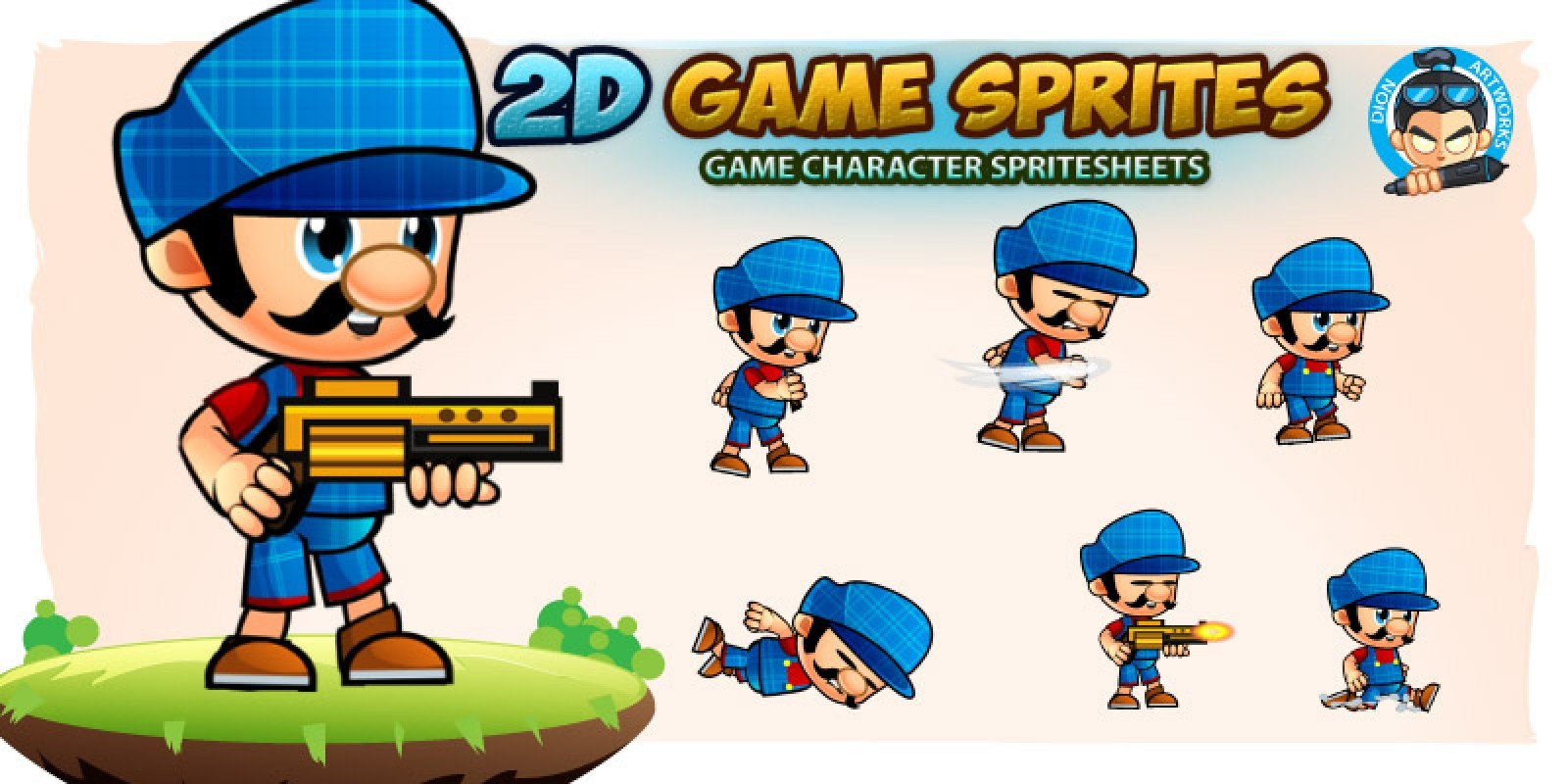 Doni 2D Game Character Sprites