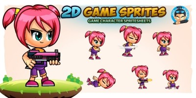 Cellen 2D Game Character Sprites