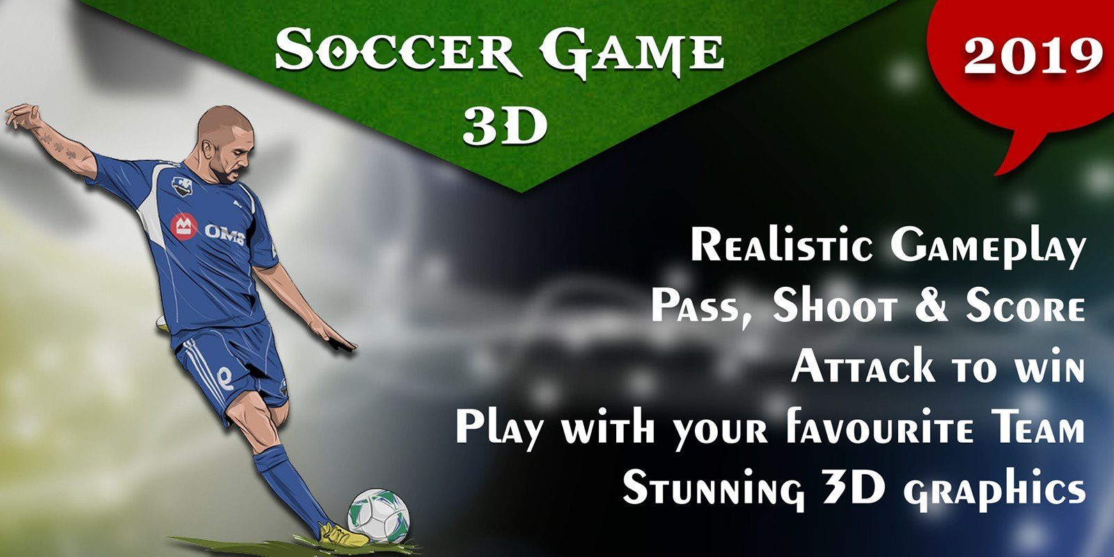 Soccer Game Unity 3D with AdMob