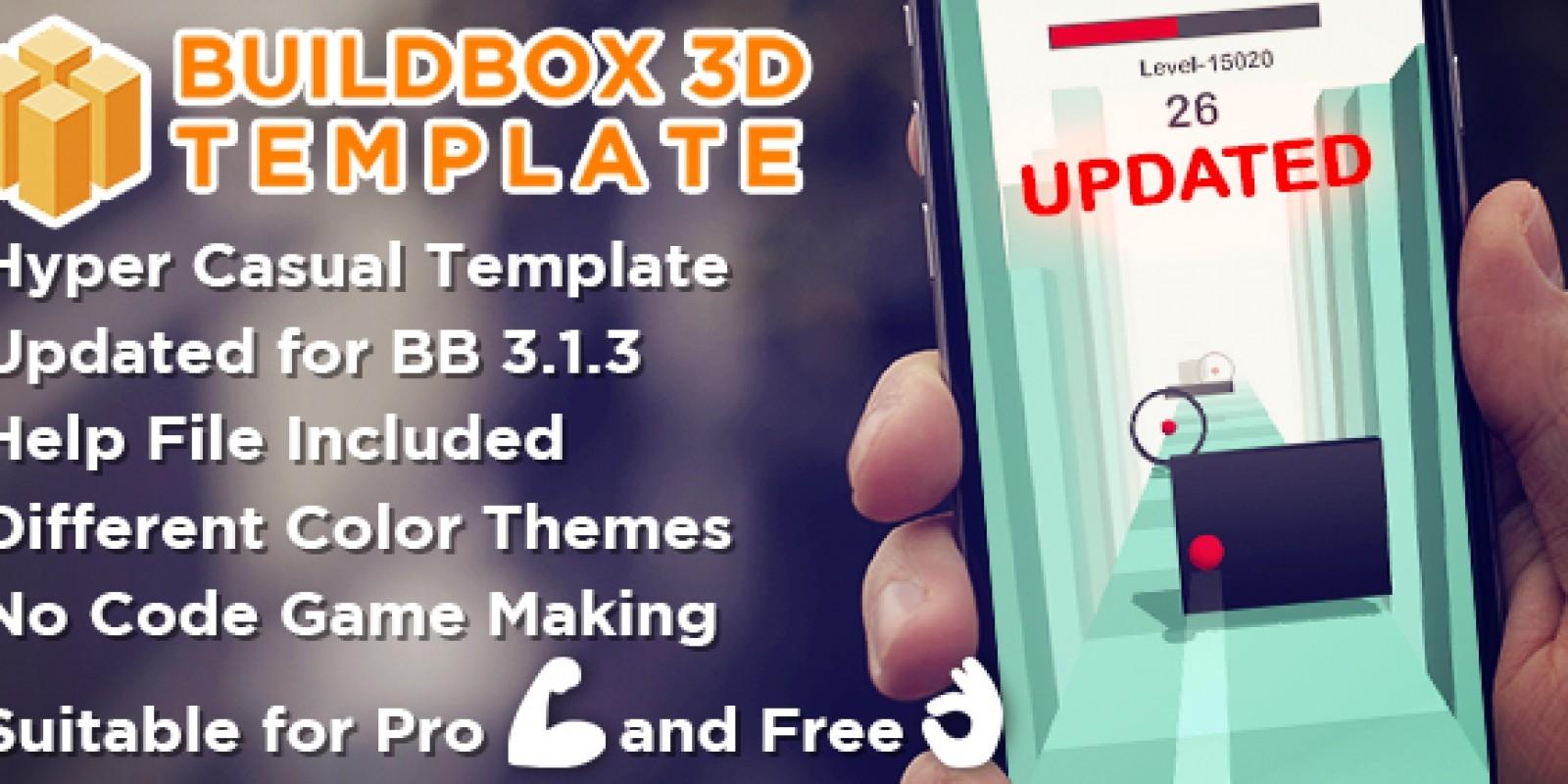 Amaze Ball 3D - Buildbox 3D Hyper Casual Template