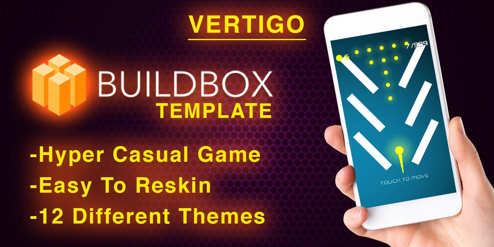 Vertigo - Buildbox Hyper Casual Game Template