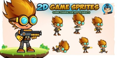 Leomar 2D Game Character Sprites