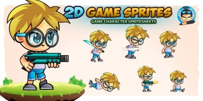 Janjo 2D Game Character Sprites