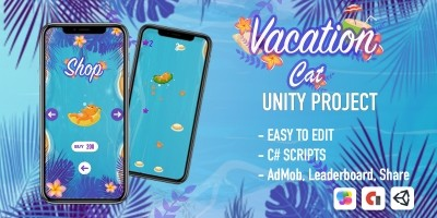 Cat Vacation - iOS Source Code