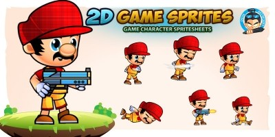 Fernando 2D Game Character Sprites