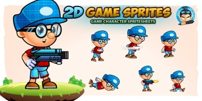 Lucas Game Character Sprites