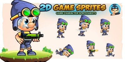 William Game Character Sprites