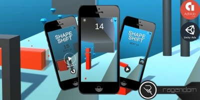 Shape Shift - Complete Unity Game