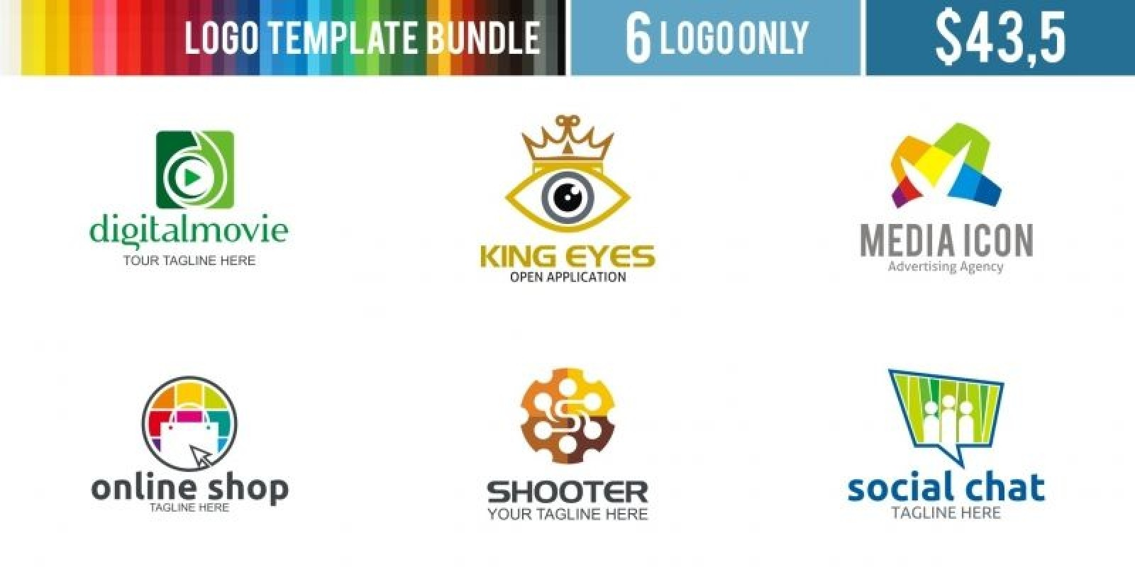 Logo Templates Bundle #4