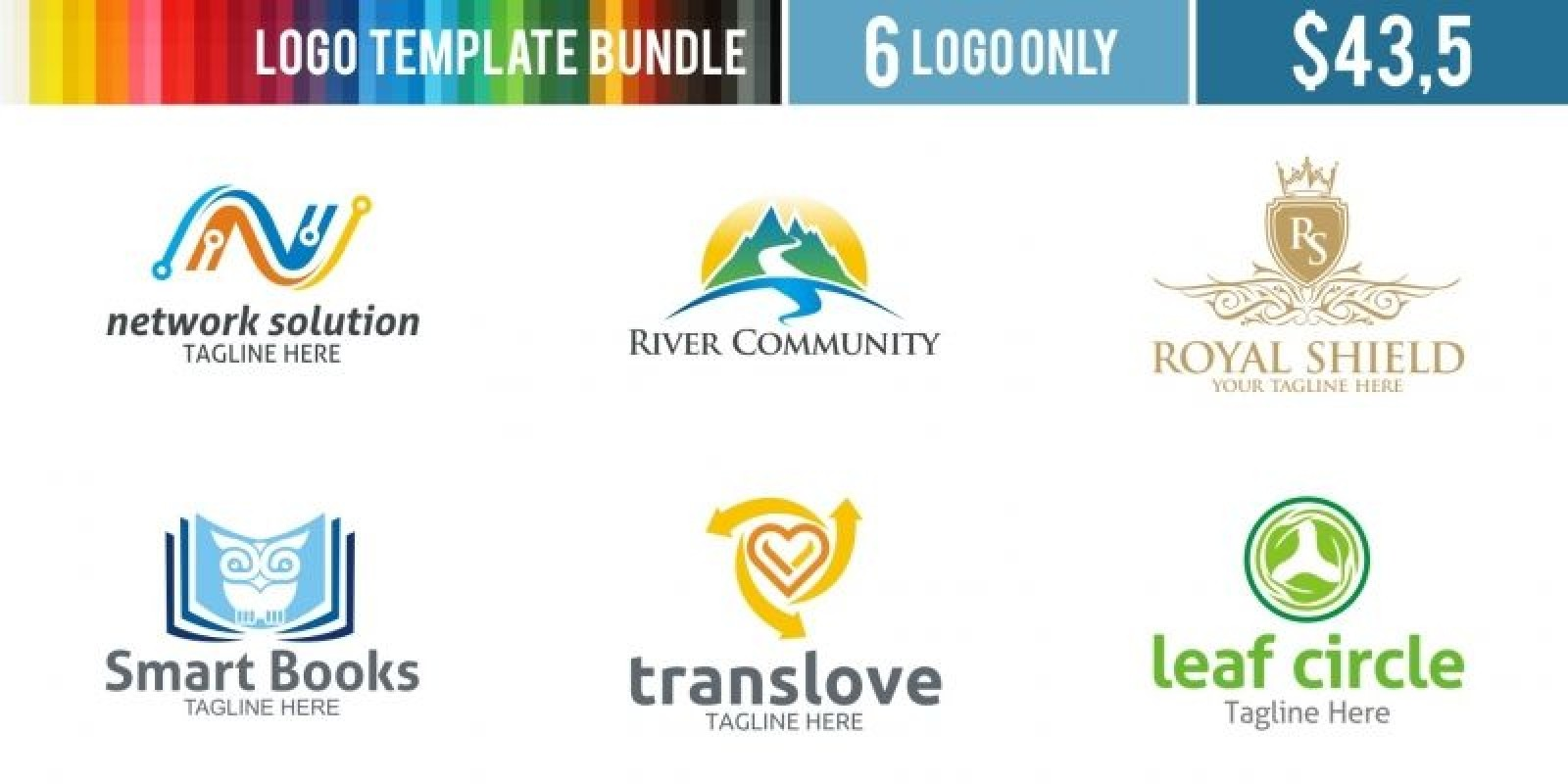 Logo Templates Bundle #6