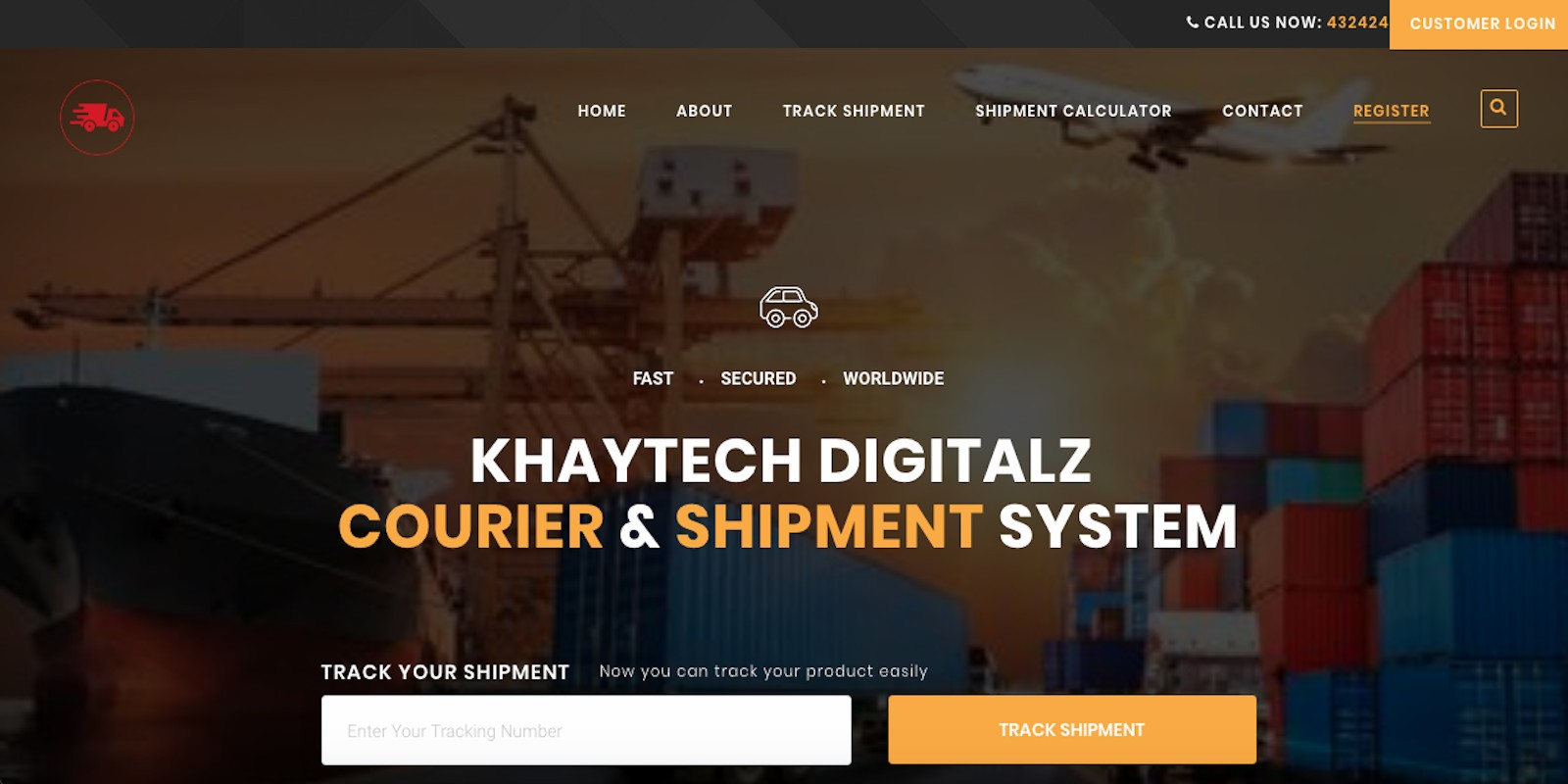 Khaytech Courier And Shipping System Script