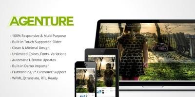 Agenturen - Wordpress Creative Portfolio Theme