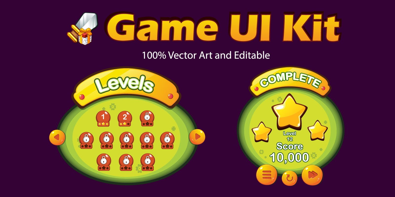 Game UI Kit