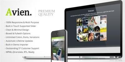 Avien - Wordpress Portfolio Business Theme