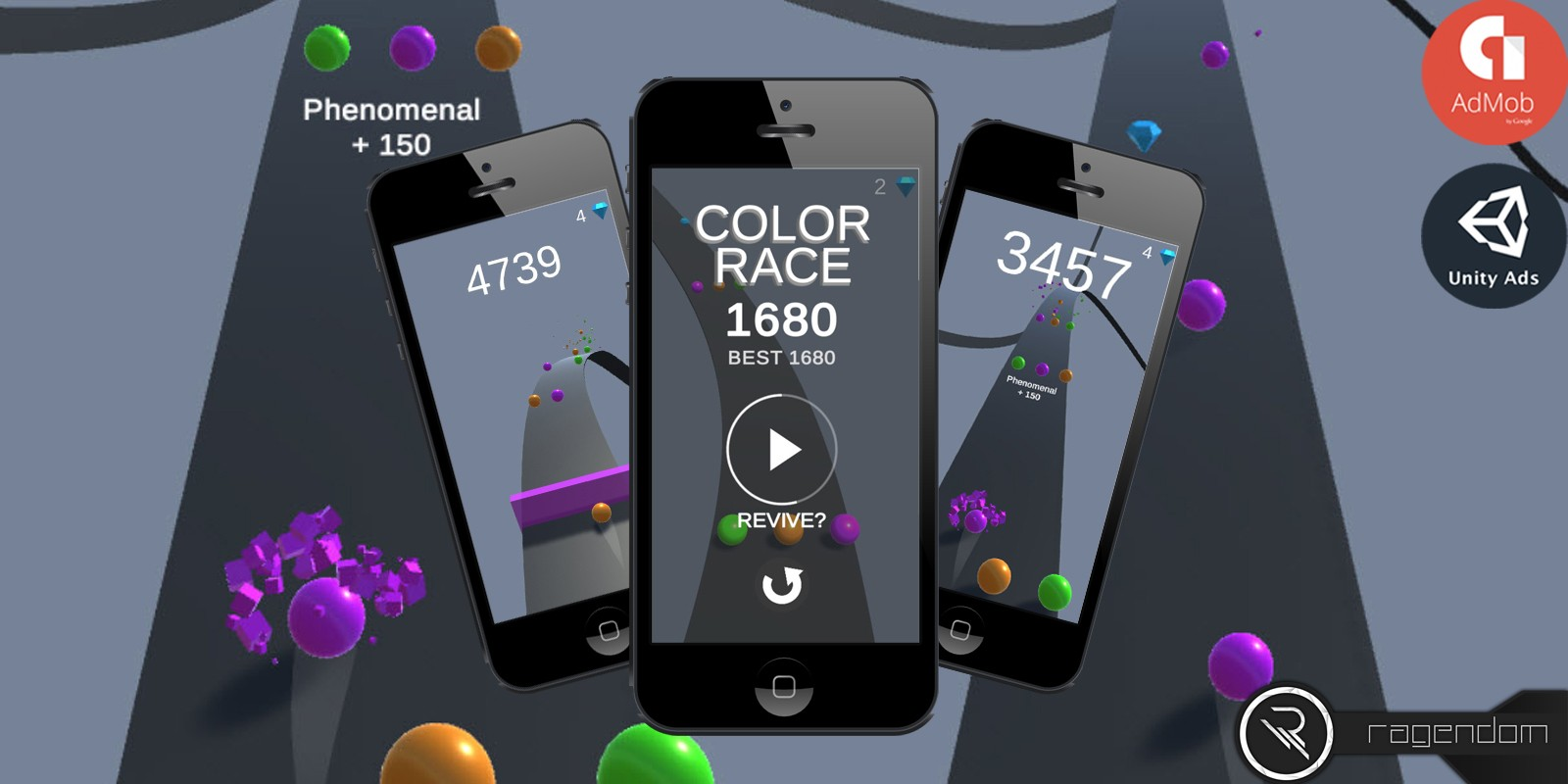 Color Race - Complete Unity Game