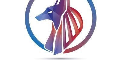 Head of Anubis 3 Vector Logo