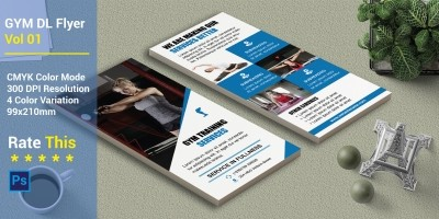 Gym DL Flyer Vol 01