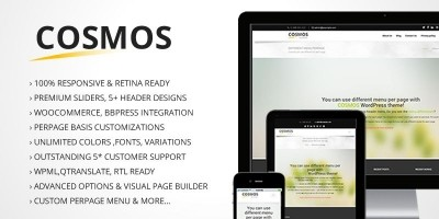 Cosmos - Wordpress Business Theme