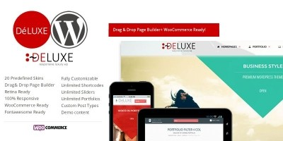 Deluxe - Wordpress Business Theme