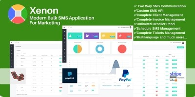 Xenon - Modern Bulk SMS Application For Marketing