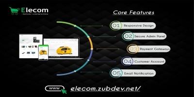 Elecom - Electronic E-commerce Store PHP Script