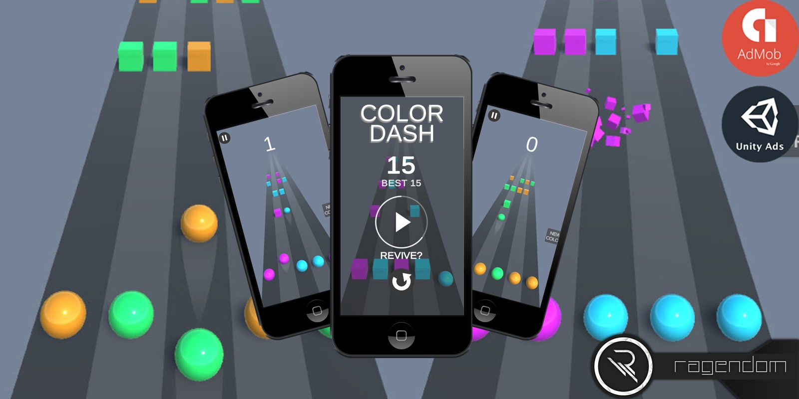 Color Dash - Complete Unity Game