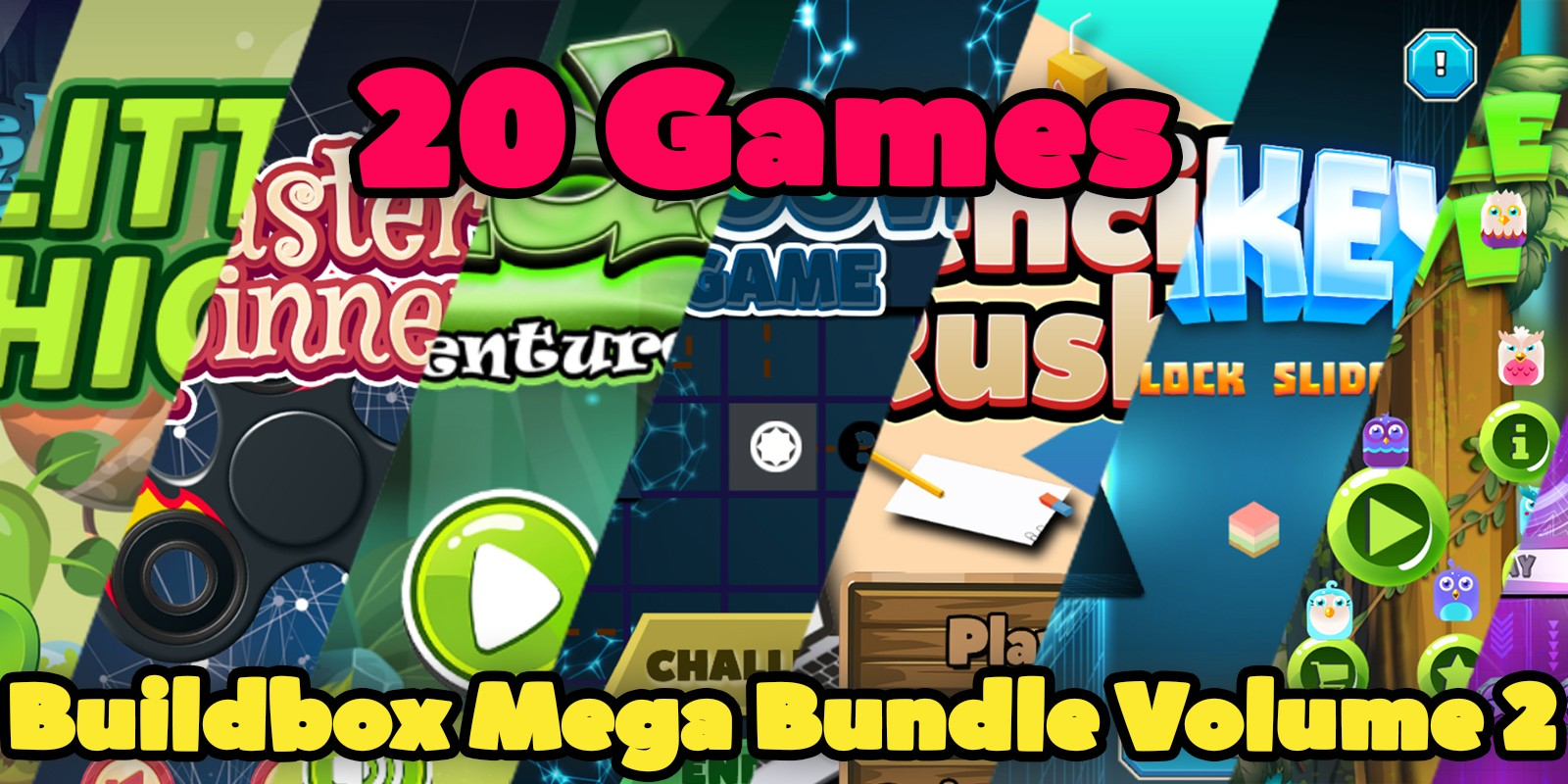 Buildbox Mega Bundle Volume 2