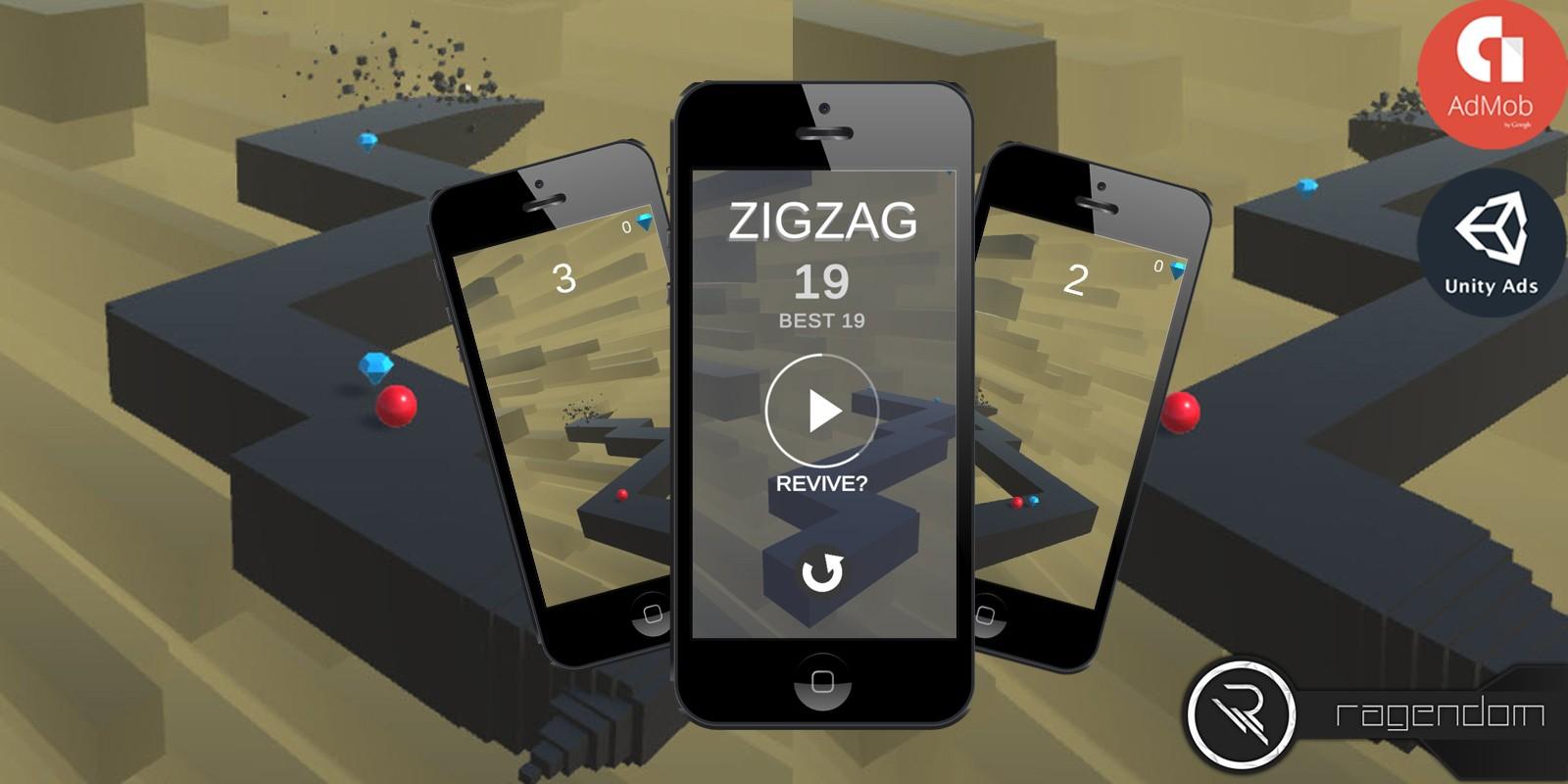 ZigZag - Complete Unity Game