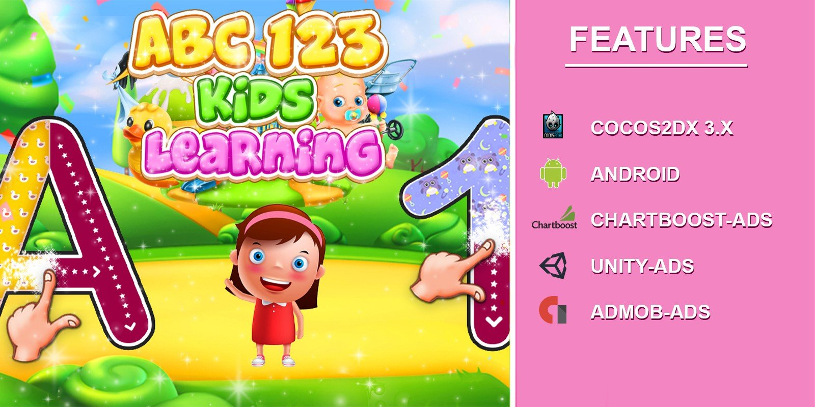 Abc 123 Kids Learning Game - Android