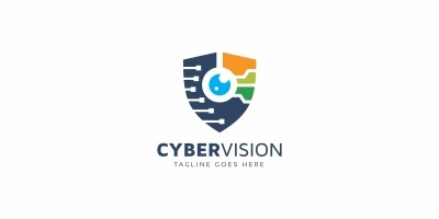 Secure Eye Camera - Logo Template