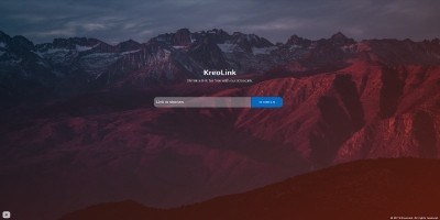 KreoLink - URL Shortener Script
