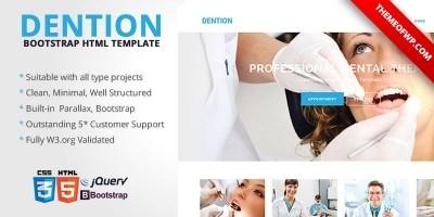 Denton - Bootstrap HTML Template