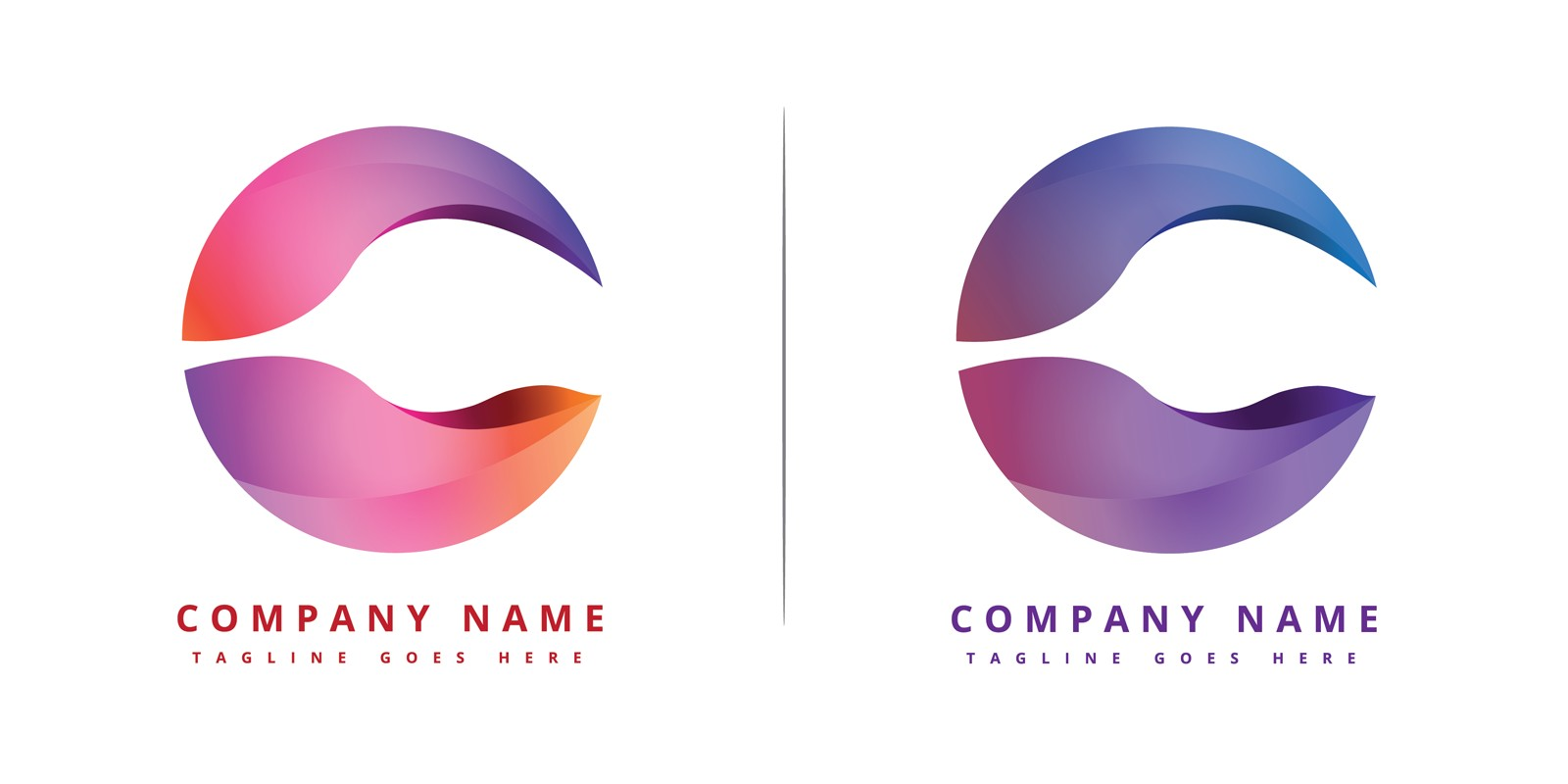 C-Logo company Design Inspiration