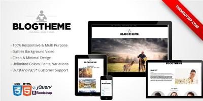 BlogTheme - Responsive Bootstrap HTML Template