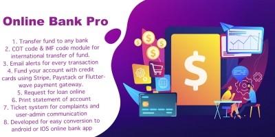 Online Bank Pro PHP Script