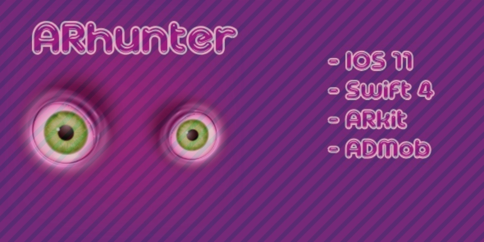 AR Hunter - Augmented Reality iOS Game