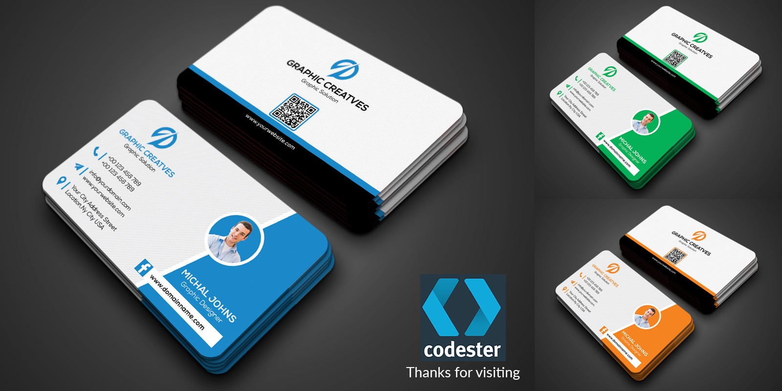 Images Business Card Template