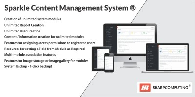 Sparkle Content Management System