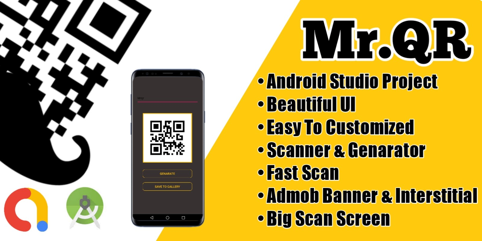 Mr QR - Simple QR Scanner Android Source Code