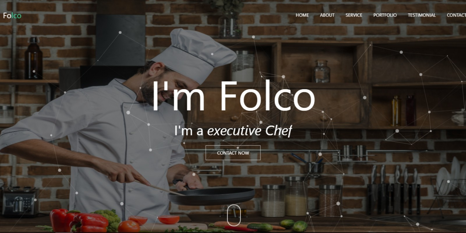 Folco - Personal Portfolio Responsive Template