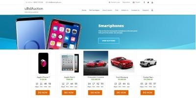 uBidAuction - PHP Classic And Bid Auctions Script