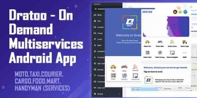 Dratoo - On Demand Multiservices Android App