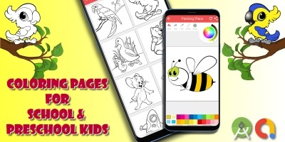 Kids Coloring App Android Source Code