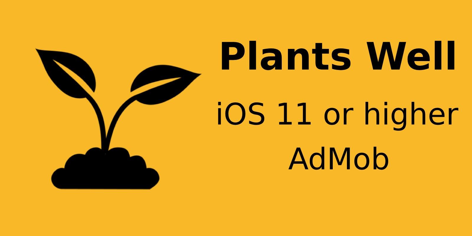 Plants Well - iOS Source Code