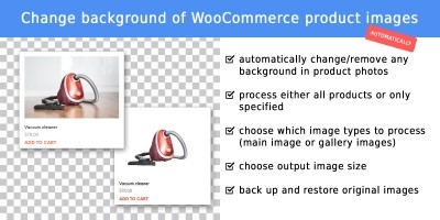 WooCommerce Remove Background Product Images