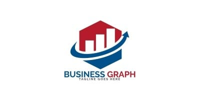Business Graph Vector Logo Design